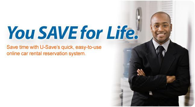 U Save Car Rental Promo Code