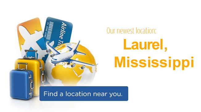 New Location: Laurel, MS