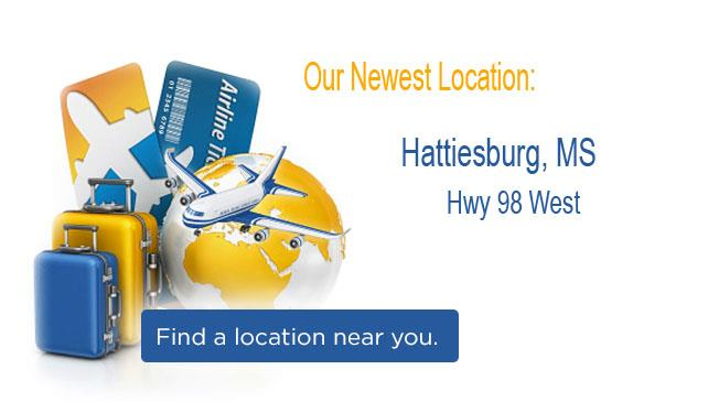 New Location: Hattiesburg West, MS